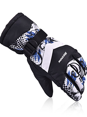 2016 New Men's Ski Gloves Women Snowboard Gloves Motorcycle Riding Winter Ski Glove Windproof Unisex Snow Gloves M801