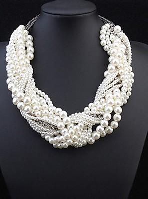 Ékszerek Nyilatkozat nyakláncok Gyöngy Gyöngy / Ötvözet Női Aranyozott Esküvői ajándékok