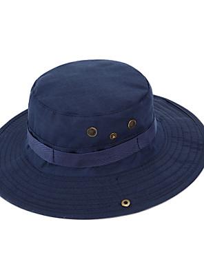 Chapéu de Sol Chapéu Respirável / Materiais Leves Unissexo Algodão / Terylene Acampar e Caminhar / Pesca Primavera / Verão / Outono