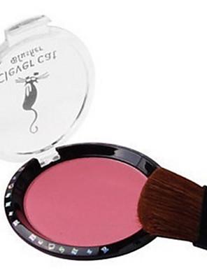 8 Blush Secos PóGloss Colorido / Humidade / Controlo de Óleo / Longa Duração / Corretivo / Peles com Manchas / Natural / Minimizador de