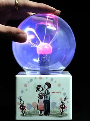 artigos de decoração dia dos namorados de arte novo toque mágico estranha ion presente estática bola mágica eletrônico levou a lâmpada de