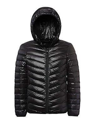 Férfi Téli kabát / Felsők Télisportok Melegen tartani / Könnyű anyagok Tavasz / Ősz / TélS / M / L / XL / XXL