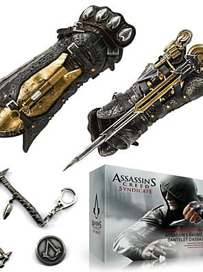 תכשיטים / תג קיבל השראה מ Assassin's Creed קוספליי אנימה / משחקי וידאו אביזרי קוספליי שרשרת / חרב / סיכה / אביזרים נוספים כסףסגסוגת / PU