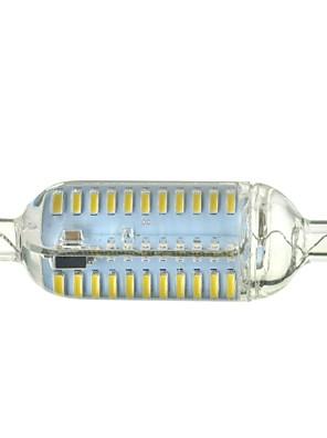 7W R7S LED-maissilamput Upotettu jälkiasennus 76 SMD 4014 600-700 lm Lämmin valkoinen / Kylmä valkoinen Himmennettävä / KoristeltuAC