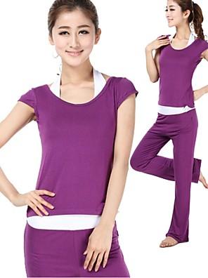 Yoga Pakken/Kledingsets Broek + Tops Ademend / Zachtheid Rekbaar Sportkleding Dames - Overige Yoga / Pilates