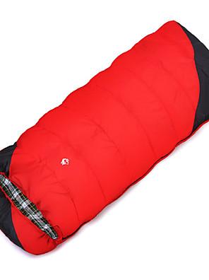 Spací pytel Obdélníkový Jednolůžko -8℃ Dutá bavlna 1500g 220X85 cestování Zahřívací Jungleking
