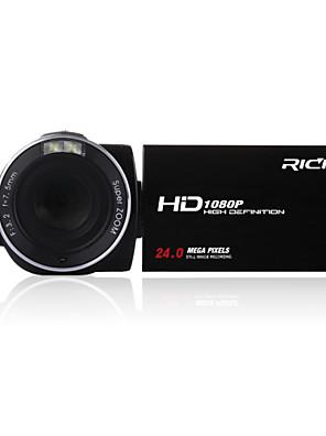 """HD-913 HD rich® פיקסלים 1080p 24.0 מגה פיקסל 16x זום 3.0 """"מסך LCD מצלמה דיגיטלית Full HD מצלמת וידאו"""