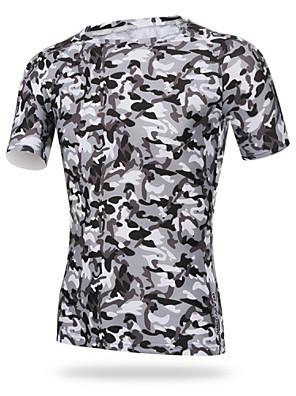 XINTOWN® חולצת ג'רסי לרכיבה לגברים שרוול קצר אופניים נושם / ייבוש מהיר / עמיד אולטרה סגול / דחיסה / חומרים קלים טי שירט / צמרותאלסטיין /