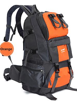 50L L ערכות תיקי גב מחנאות וטיולים / דיג / טיפוס / ציד / לטייל / Emergency / רכיבה על אופניים טבעעמיד למים / ייבוש מהיר / תיק קטל מובנה /