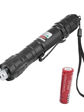 Laser Verde-Tipo Lanterna- deLiga Alumínio