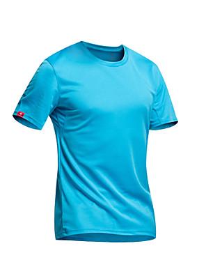 KOSHBIKE / KORAMAN® Camisa para Ciclismo Homens Manga Curta MotoRespirável / Secagem Rápida / Resistente Raios Ultravioleta / Permeável á