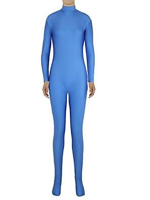 Unisex Zentai Suits Lycra / Spandex Blue Zentai