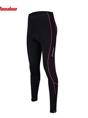 TASDAN® מכנסי רכיבה לנשים נושם / ייבוש מהיר / 3D לוח / רצועות מחזירי אור / תומך זיעה אופניים מכנסיים / טייץ רכיבה על אופניים ניילון אחיד