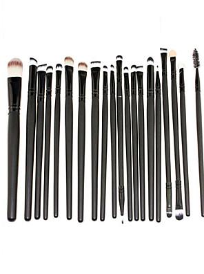 20Conjuntos de pincel / Pincel para Blush / Pincel para Sombra / Pincel para Lábios / Pincel de Sombrancelha / Pincel de Delineador de