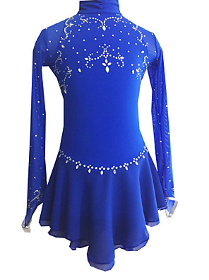 Robes(Bleu royal) -Patinage-Femme-S / M / L / XL / 6 / 8 / 10 / 12 / 16