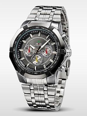 WEIDE® Men's Sports Watch Military Full Steel Quartz Luxury Waterproof Wristwatch Cool Watch Unique Watch