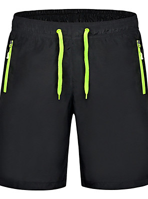 Men's Shorts,Sport Solid Polyester k180