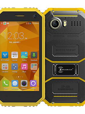 """Kenxinda PROOFINGS W6 4.5 """" Android 5.1 4G okostelefon ( Két SIM Négymagos 5 MP 1 GB + 8 GB Szürke / Sárga )"""