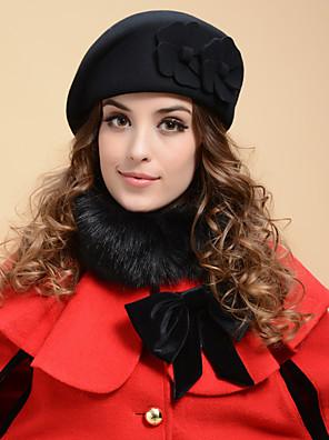 כובע טייסים נשים וינטאג' / חמוד / יום יומי,טוויד / צמר חורף / קיץ / כל העונות