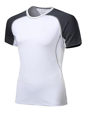 Unissexo Camiseta Acampar e Caminhar / Alpinismo / Esportes Relaxantes / Ciclismo/Moto / Corrida Respirável / Redutor de SuorPrimavera /