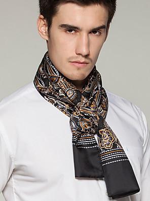 Herrer Vintage / Kontor / Casual Silke Halstørklæde-Trykt mønster Rektangulær