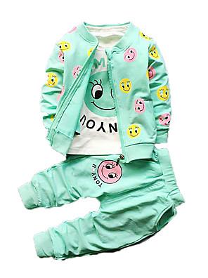 nieuwe lente en de herfst kinderkleding, jongen pak, katoen, jongens zachte kleding dragen driedelig pak