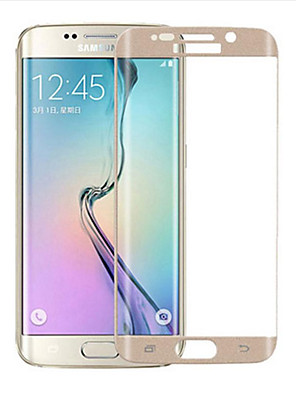 zxd 9h 3d volledige gebogen screen protector gehard glas film voor samsung galaxy s6 rand
