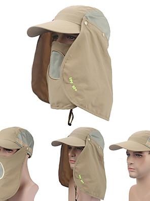 Boné de Pescador / Boné Com Proteção UV / Boné Anti-Mosquito Viseiras / Máscara Facial / Chapéu / CapsRespirável / Secagem Rápida / Á