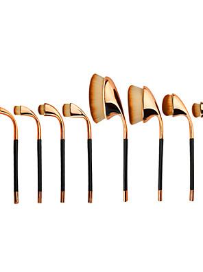 9Altro pennello / Contour Brush / Set di pennelli / Pennello per cipria / Pennello sopracciglia / Pennello per correttore / Pennello per