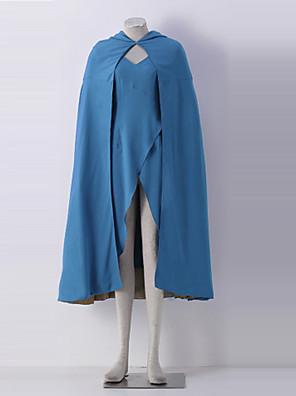 Game of Thrones daenerys targaryen Halloweenský kostým pro dospělé ženy blue zástěra šaty
