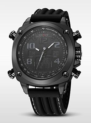 WEIDE® Men's Luxury Brand Double Time Analog-Digital Multifunctions Waterproof Sports Watch Fashion Watch