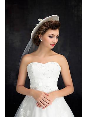 נשים תחרה / טול / פשתן כיסוי ראש-חתונה כובעים חלק 1