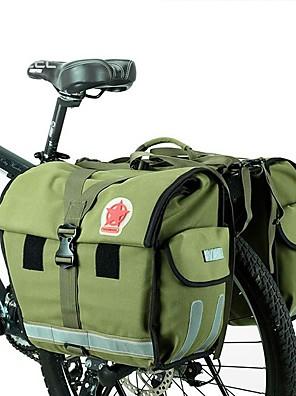 ROSWHEEL® Cyklistická taška 50LKufr na kola/Brašna na koš Voděodolný / Odolné vůči dešti / Nositelný / Bederní pás Taška na koloNylon /