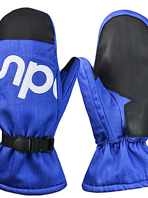BOODUN® כפפות ספורט/ פעילות לנשים / לגברים / כל כפפות רכיבה חורף כפפות אופנייםשמור על חום הגוף / עמיד למים / נושם / עמיד בפני רוחות /