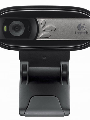 Logitech® C170 netværk hd bærbar desktop videokameraer med mikrofon