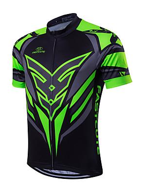 Fastcute® חולצת ג'רסי לרכיבה לגברים שרוול קצר אופניים נושם / ייבוש מהיר / תומך זיעה ג'רזי Coolmax קלאסי אביב / קיץ / סתיורכיבה על