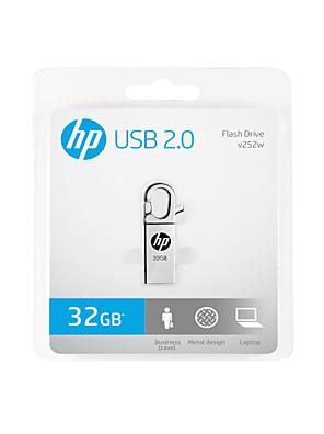 de nieuwe HP USB x252w metalen creatief u schijf 32gb