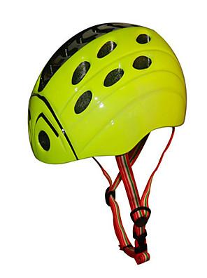 קסדה-לילדים-ספורט-רכיבה על אופניים / החלקה(צהוב / ירוק / אדום / ורוד,PC / EPS)21 פתחי אוורור