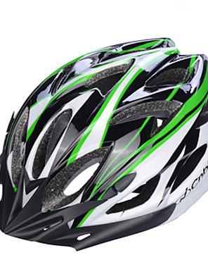 קסדה-יוניסקס-הר / כביש / ספורט / חצי צדפה-רכיבה על אופניים / רכיבה על אופני הרים / רכיבה בכביש / רכיבת פנאי / אחרים(צהוב / לבן / ירוק /