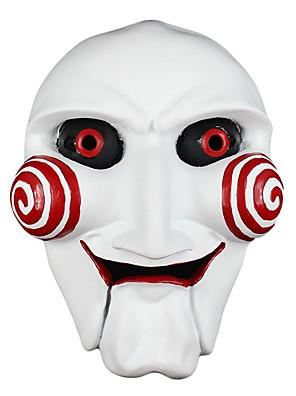Maska Monsters Festival/Svátek Halloweenské kostýmy Bílá Tisk Maska Halloween / Karneval Unisex Pryskyřice