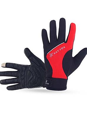BATFOX® כפפות ספורט/ פעילות לנשים / לגברים / לילדים כפפות רכיבה אביב / קיץ / סתיו / חורף כפפות אופנייםשמור על חום הגוף / נגד החלקה / נושם