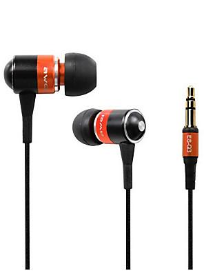 AWEI Q3 Sluchátka do  ušíForPřehrávač / tablet / Mobilní telefon / PočítačWithrušení šumu