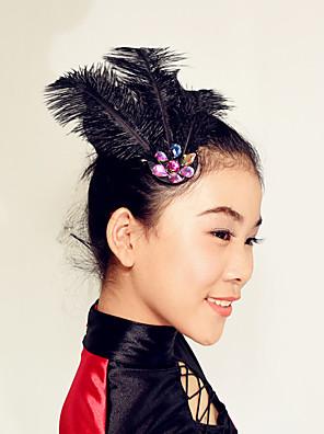 Decoração de Cabelo(Preto,Penas,Dança Moderna) - deDança Moderna-Mulheres / Crianças