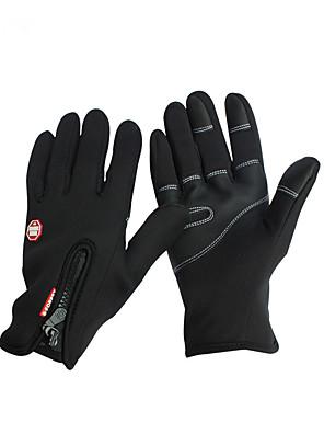 Luvas Luvas Esportivas Mulheres / Homens / Todos Luvas de Ciclismo Outono / Inverno Luvas para CiclismoMantenha Quente / Anti-Derrapagem