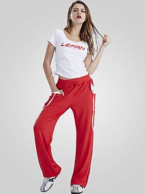 הופעות התעמלות בגדי ריקוד נשים ביצועים פוליאסטר קשת (תות) / צד עטויים 2 חלקים שרוול קצר טבעי מכנסיים / חצאית / עליון 35cm