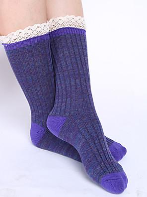Ženy Bavlna Ponožky Teplé