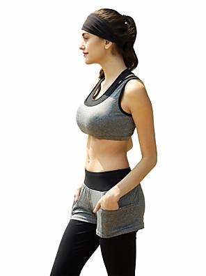 ריצה מדים בסטים לנשים בלי שרוולים נושם / תומך זיעה פוליאסטר / אלסטייןיוגה / פילאטיס / טיפוס / כושר גופני / ספורט פנאי / כדורסל / כדורגל /