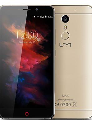 "Max 5.5 "" Android 6.0 4G-smartphone ( Dubbele SIM Octa-core 13 MP 3GB + 16 GB Grijs / Goud )"
