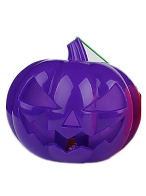 Artigos de Halloween Abóbora Festival/Celebração Trajes da Noite das Bruxas Roxo / Laranja Patchwork / Estampado Mais AcessóriosDia Das