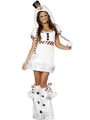 Cosplay Kostýmy Bílá Umělá kožešina / Terylen Cosplay doplňky Vánoce / Karneval